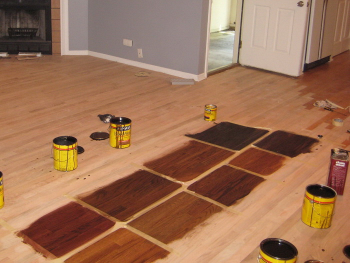 To refinish wood floors, you don't always have to sand them